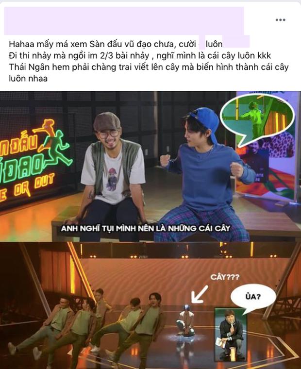Netizen tranh cãi lời biện minh của Phạm Đình Thái Ngân tại Sàn Đấu Vũ Đạo, còn cà khịa luôn lùm xùm nụ hôn tình bạn - Ảnh 10.