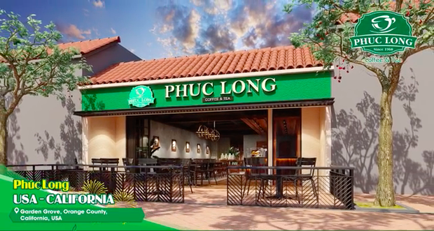 Tiếp nối Cộng, Phúc Long mở cửa hàng đầu tiên ở nước ngoài với thiết kế đậm chất Việt Nam, fan rục rịch hẹn ngày được check-in - Ảnh 2.