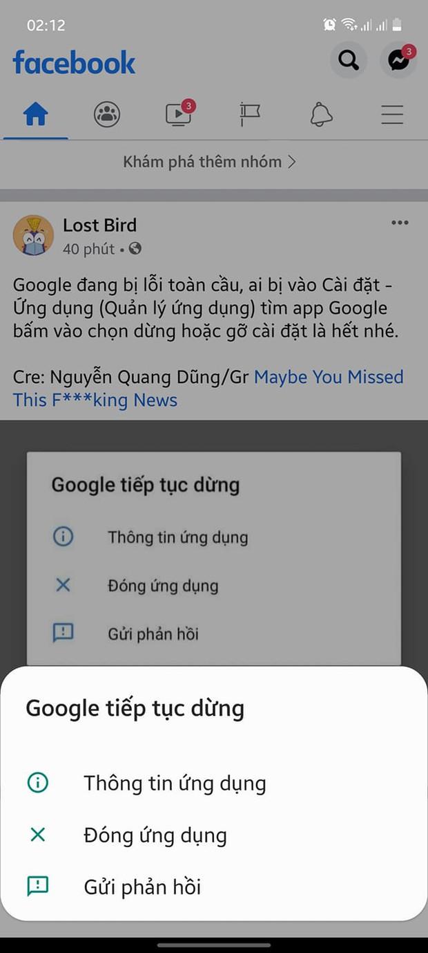 NÓNG: Google đang bị lỗi trên toàn cầu - Ảnh 2.