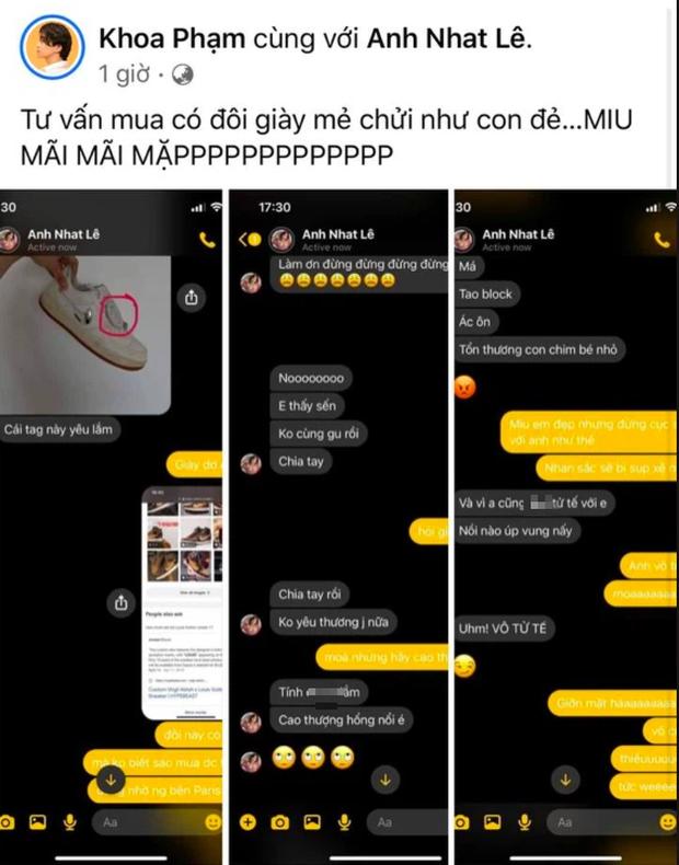Karik đăng đoạn chat riêng tư với Miu Lê: Anh làm gì mà để đàng gái nói không yêu thương nổi, đòi chia tay thế này? - Ảnh 2.