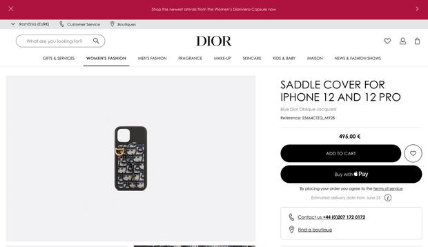 Soi chiếc ốp iPhone đắt đỏ của Jisoo (BLACKPINK), giá cao ngất ngưởng nhưng lại sold out mất rồi - Ảnh 4.