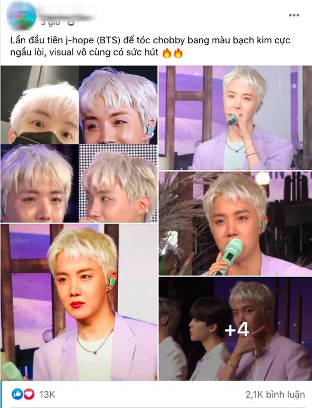 Thêm 1 thành viên của BTS gây bão MXH nhờ thay đổi kiểu tóc, dù hơi giả trân nhưng giúp thăng hạng visual ra phết! - Ảnh 6.