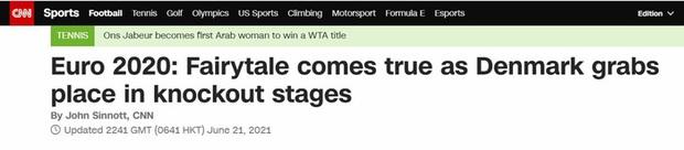 Báo chí thế giới ngã mũ thán phục trước màn thoát hiểm thần kỳ của Đan Mạch ở Euro 2020 - Ảnh 7.