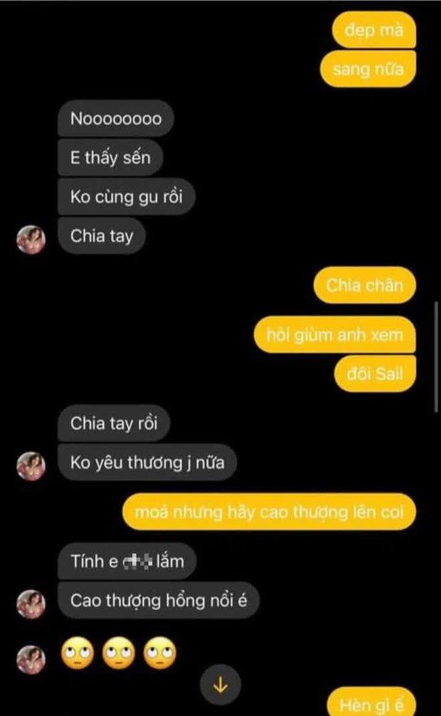 Karik đăng đoạn chat riêng tư với Miu Lê: Anh làm gì mà để đàng gái nói không yêu thương nổi, đòi chia tay thế này? - Ảnh 4.