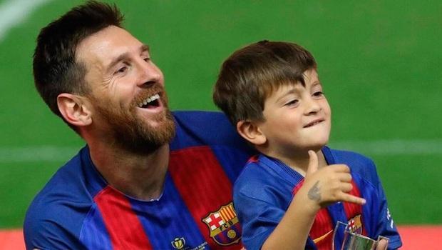 Éo le chuyện con nhà cầu thủ: Con trai Messi là fan cứng của Ronaldo, quý tử nhà Ronaldo lại mê tít Messi - Ảnh 5.