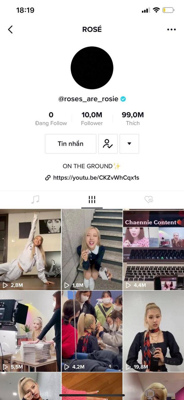 Rosé (BLACKPINK) cán mốc 15 triệu follower trên TikTok, là người có số follower nhiều nhất Kpop - Ảnh 2.