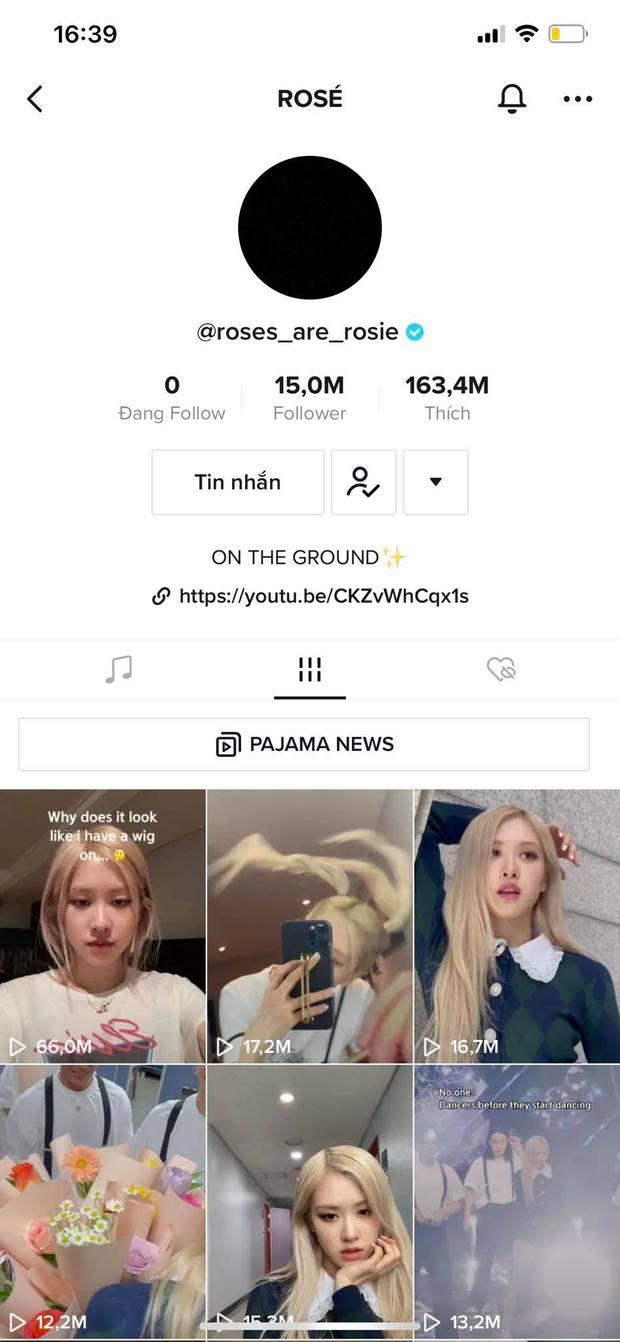 Rosé (BLACKPINK) cán mốc 15 triệu follower trên TikTok, là người có số follower nhiều nhất Kpop - Ảnh 3.
