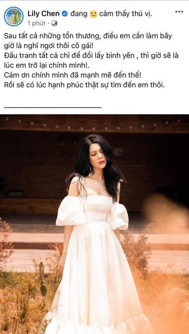 Sau nghi vấn chung bồ tỷ phú với Ngọc Trinh, Lily Chen bất ngờ tuyên bố muốn nghỉ ngơi nhưng lại vội quay xe chỉ trong ít phút - Ảnh 2.