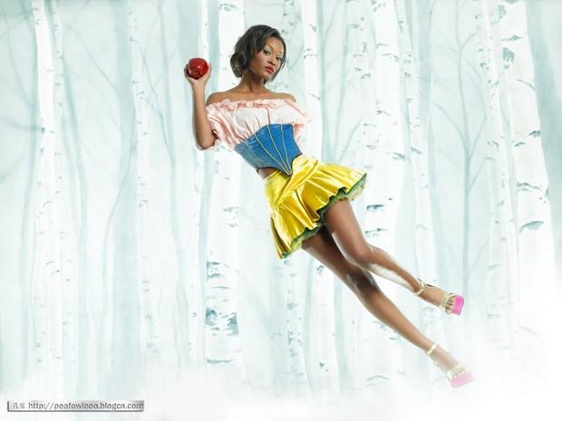 Cần gì chờ Disney ra tay, Next Top Model đã có Bạch Tuyết không trắng như tuyết từ lâu rồi! - Ảnh 3.