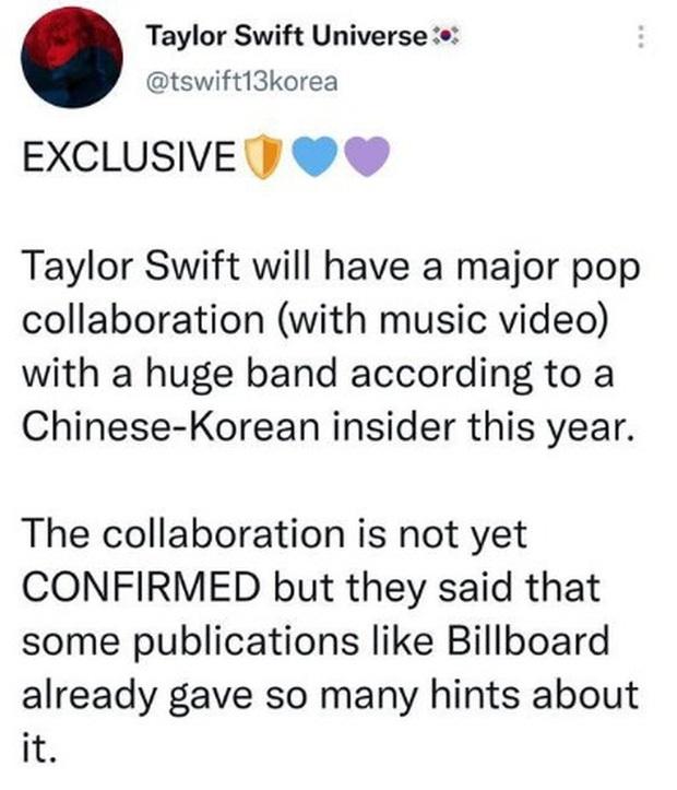 Trong lúc dân tình mải đồn đoán BLACKPINK sẽ collab với Taylor Swift thì Tzuyu (TWICE) đã nhanh chân đi trước 1 bước - Ảnh 4.