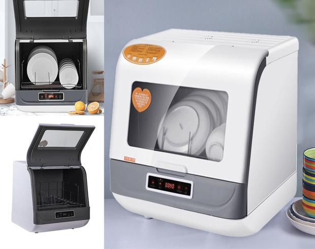 Tổng hợp máy rửa bát mini giá phải chăng giúp chị em tiết kiệm thời gian dọn rửa - Ảnh 1.