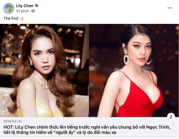 Fan khen Lily Chen sang hơn Ngọc Trinh khiến cô vui quá thả bão trái tim luôn á! - Ảnh 5.