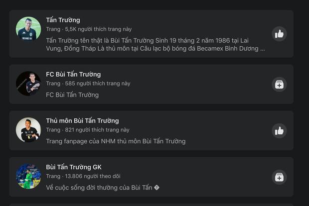 Thủ môn Tấn Trường lập sương sương đã tận 3 fanpage Facebook như hack não fan, netizen lo sợ ông chú sắp bán hàng online luôn rồi! - Ảnh 5.