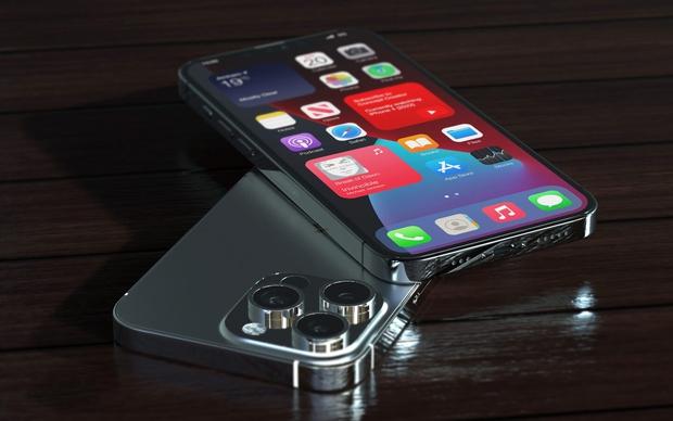 """Lộ concept iPhone 13 Pro Max màu đen """"bí ẩn"""", nhưng sao lại thế này? - Ảnh 2."""