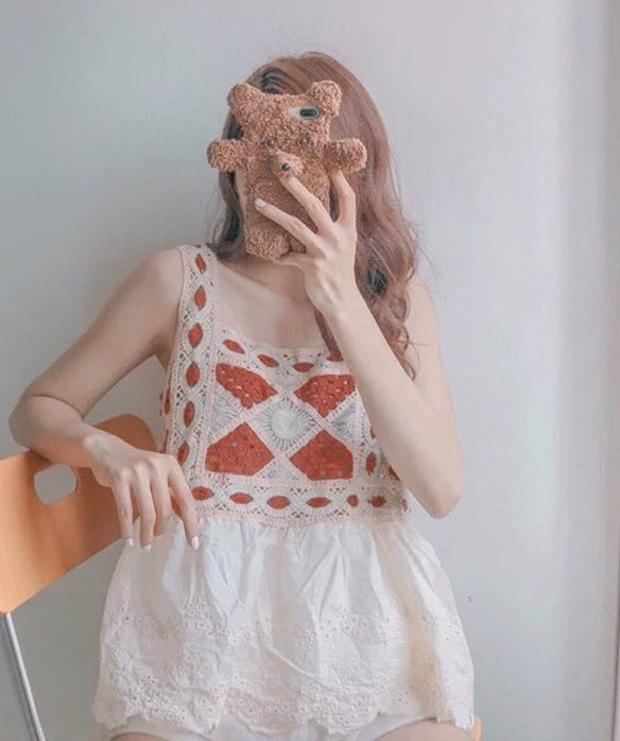Bên Hàn rộ mốt đồ đan móc, gợi ý cho các nàng loạt áo chuẩn trend siêu xinh mà giá chỉ từ 60k - Ảnh 5.