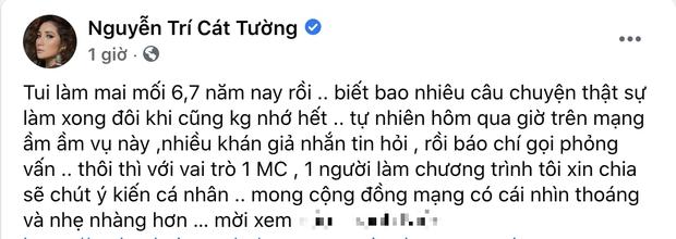 2 sao Việt gây tranh cãi nảy lửa khi lên tiếng bảo vệ cô gái đòi bạn trai cho 500 triệu, MC Cát Tường còn bị tố cấu kết để câu view? - Ảnh 4.