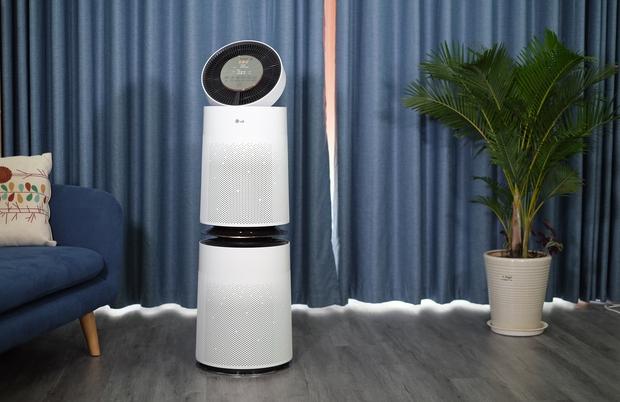 Máy lọc không khí 2 tầng của LG: Thiết kế siêu xịn xò nhưng liệu có xứng đáng với giá 2 chục triệu? - Ảnh 5.