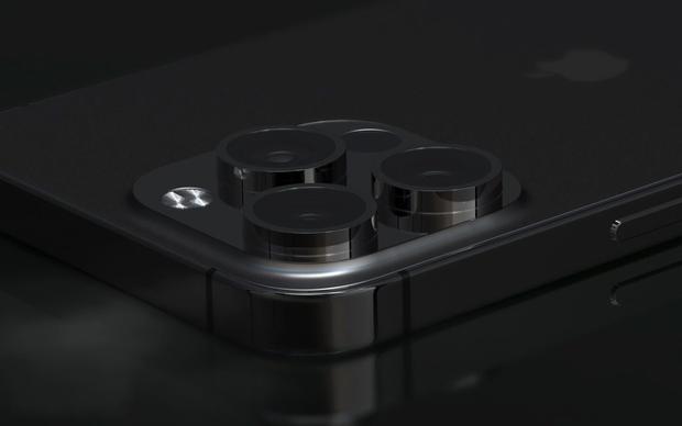 """Lộ concept iPhone 13 Pro Max màu đen """"bí ẩn"""", nhưng sao lại thế này? - Ảnh 3."""