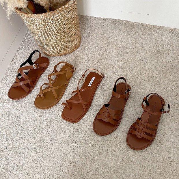 Sandal xinh mê tơi giá hạt dẻ các shop mới về: Diện mát chân mà phối với đồ gì cũng đẹp - Ảnh 7.