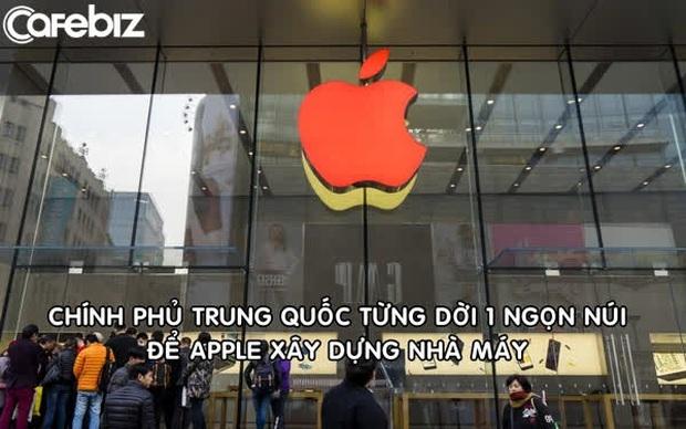Trung Quốc từng dời cả 1 ngọn núi để Apple xây nhà máy sản xuất - Ảnh 1.