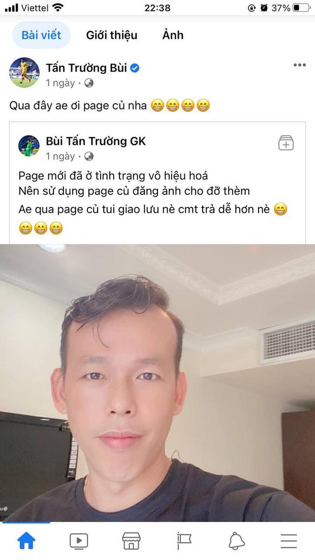 Thủ môn Tấn Trường lập sương sương đã tận 3 fanpage Facebook như hack não fan, netizen lo sợ ông chú sắp bán hàng online luôn rồi! - Ảnh 2.