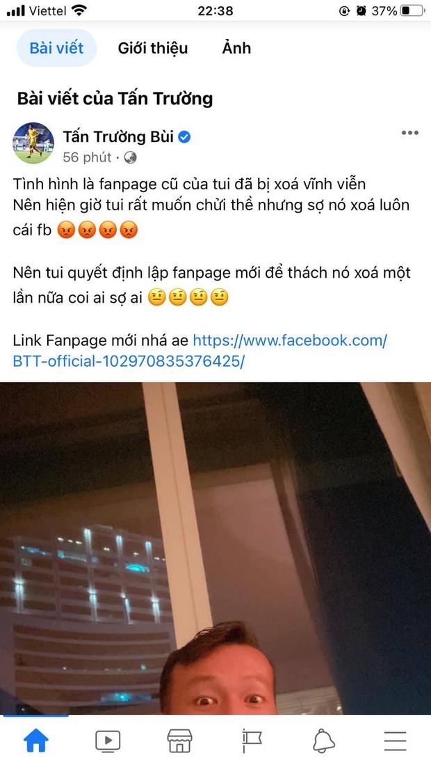 Thủ môn Tấn Trường lập sương sương đã tận 3 fanpage Facebook như hack não fan, netizen lo sợ ông chú sắp bán hàng online luôn rồi! - Ảnh 3.