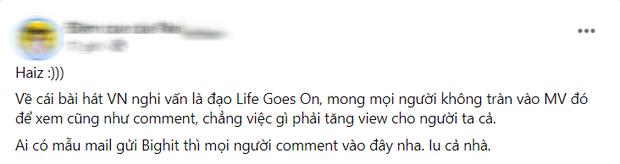 Nam ca sĩ Việt đạo nhái trắng trợn hit của BTS: Fan đồng loạt gửi mail cho Big Hit, chính chủ gỡ MV chỉ sau một đêm! - Ảnh 4.