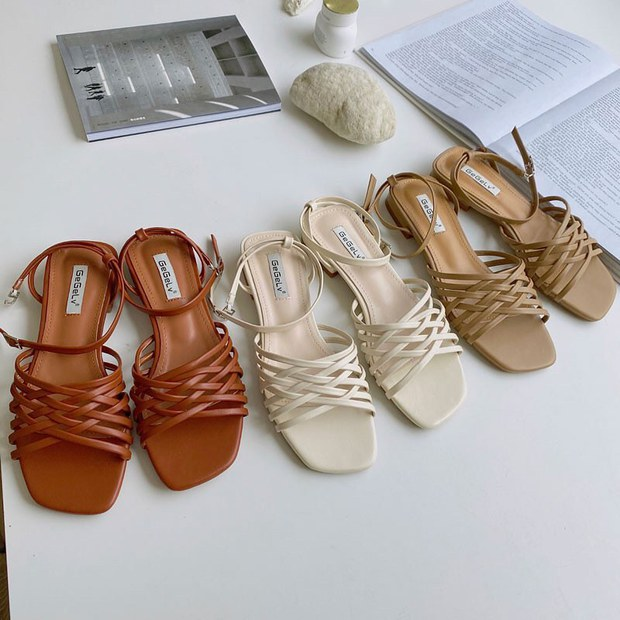 Sandal xinh mê tơi giá hạt dẻ các shop mới về: Diện mát chân mà phối với đồ gì cũng đẹp - Ảnh 11.