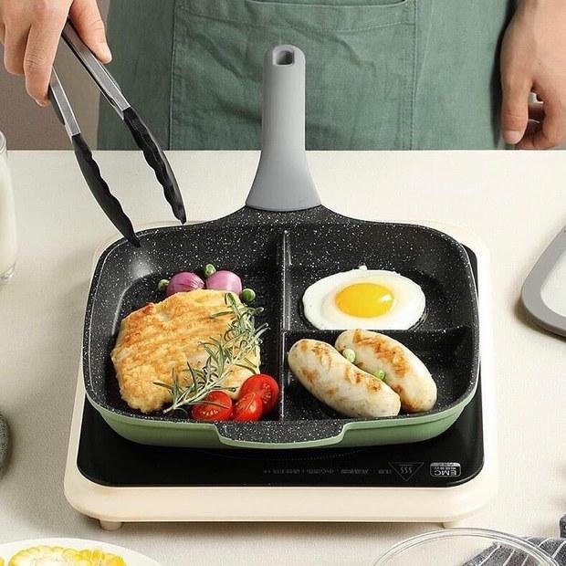 Chảo nhiều ngăn siêu tiện giá chỉ từ 149k, chị em sắm về trổ tài nấu nướng cũng hợp lý phết - Ảnh 6.