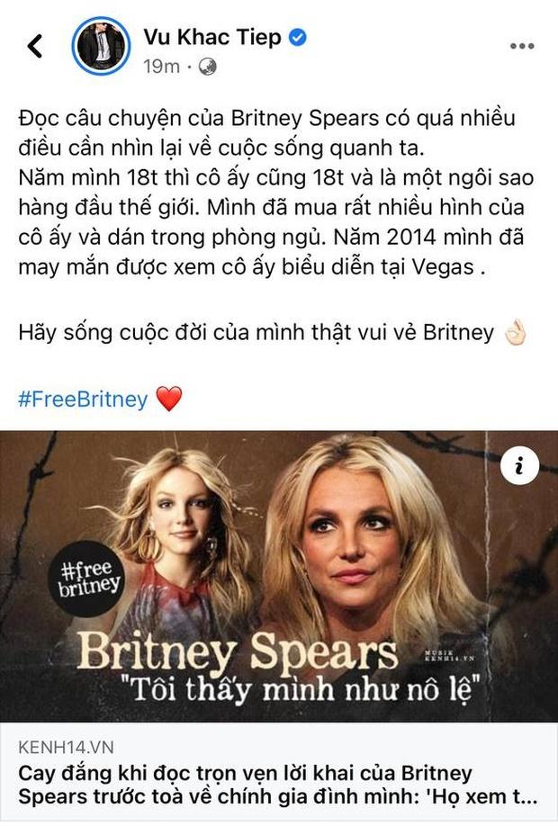 Bảo Thy, Hari Won xót xa khi đọc lời khai của Britney Spears, Vũ Khắc Tiệp tiết lộ kỷ niệm từng có với công chúa nhạc Pop - Ảnh 5.