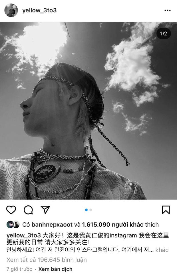 Renjun (NCT DREAM) vừa công khai Instagram, nhanh chóng hút về gần 2 triệu follower chỉ trong vài tiếng, lọt luôn top trending thế giới - Ảnh 3.