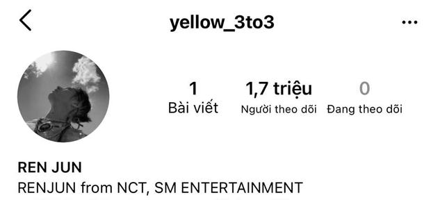 Renjun (NCT DREAM) vừa công khai Instagram, nhanh chóng hút về gần 2 triệu follower chỉ trong vài tiếng, lọt luôn top trending thế giới - Ảnh 2.