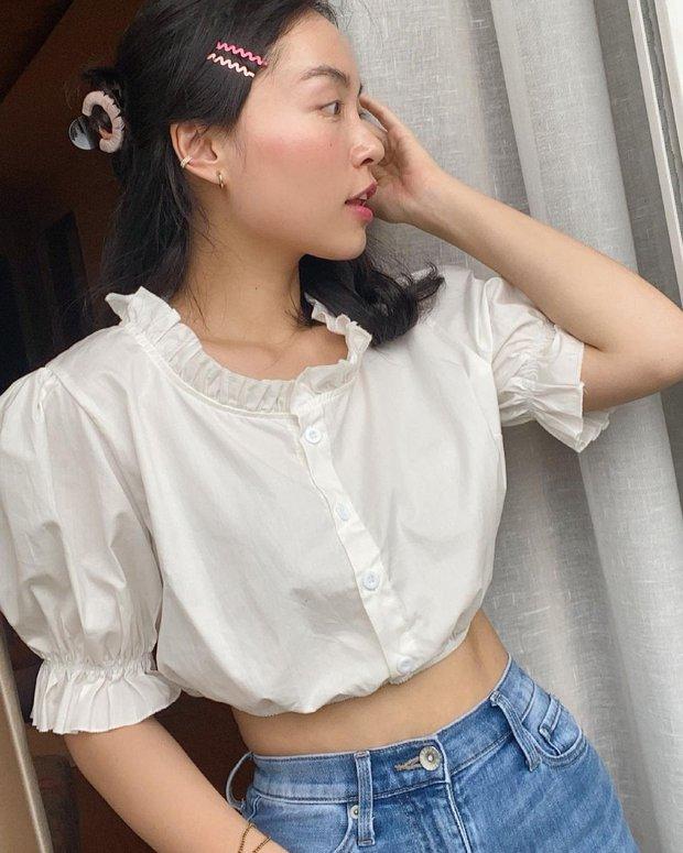 """Jisoo xinh xắn với áo blouse 1 triệu, có nhiều mẫu na ná giá chỉ vài trăm bạn dư sức """"múc"""" - Ảnh 4."""