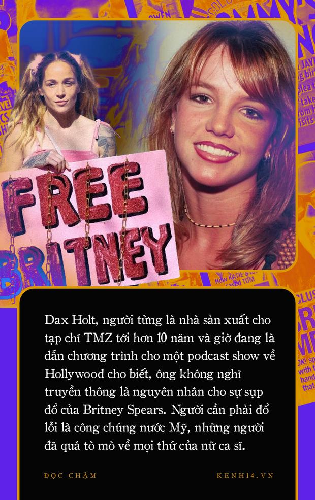Xin lỗi, Britney: Lời xin lỗi muộn màng của truyền thông thế giới sau hơn 1 thập kỷ đày đoạ công chúa nhạc Pop - Ảnh 8.