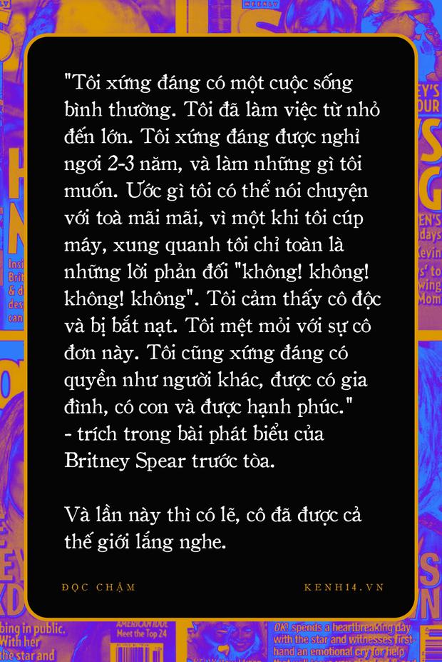 Xin lỗi, Britney: Lời xin lỗi muộn màng của truyền thông thế giới sau hơn 1 thập kỷ đày đoạ công chúa nhạc Pop - Ảnh 10.