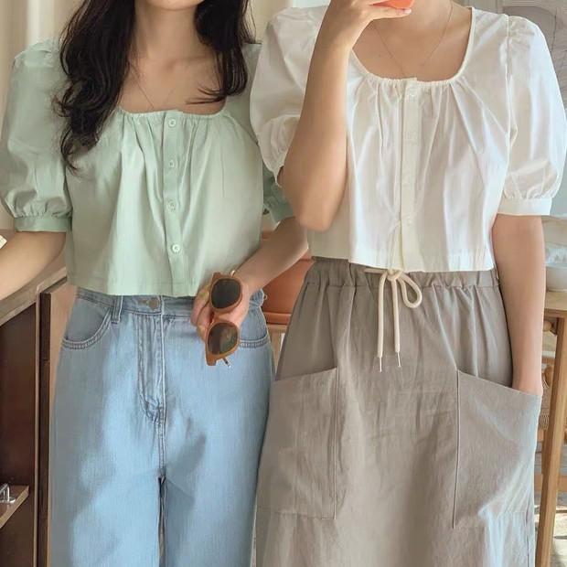 """Jisoo xinh xắn với áo blouse 1 triệu, có nhiều mẫu na ná giá chỉ vài trăm bạn dư sức """"múc"""" - Ảnh 12."""