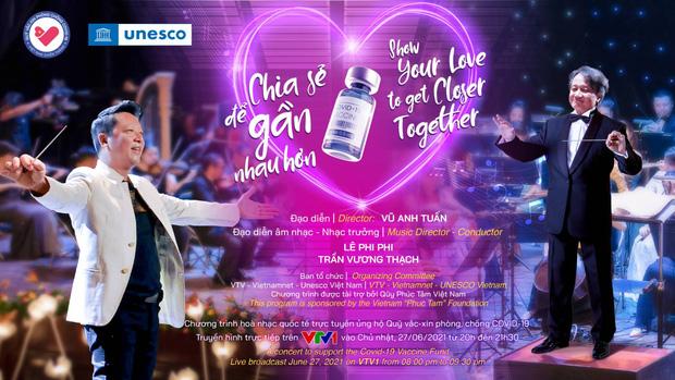 Thu Minh, Tùng Dương và dàn nghệ sĩ sẽ cùng góp mặt trong đêm hòa nhạc trực tuyến kết nối 5 châu ủng hộ Quỹ vaccine Covid-19 - Ảnh 2.