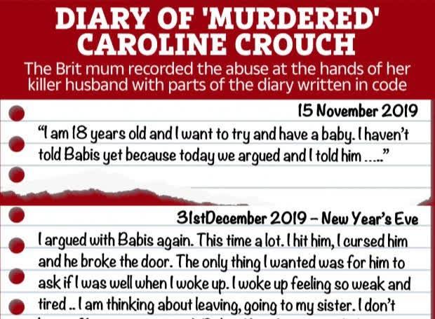Vụ bà mẹ trẻ bị sát hại giữa đêm, 1 tháng sau lộ ra chính chồng dàn dựng: Phát hiện nhật ký đau lòng của nạn nhân được viết bằng mã code - Ảnh 3.