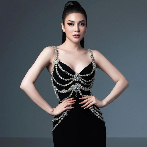 Cao sang là thế, Tình địch Ngọc Trinh Lily Chen vẫn mặc nhầm váy đạo nhái trắng trợn Chanel - Ảnh 1.