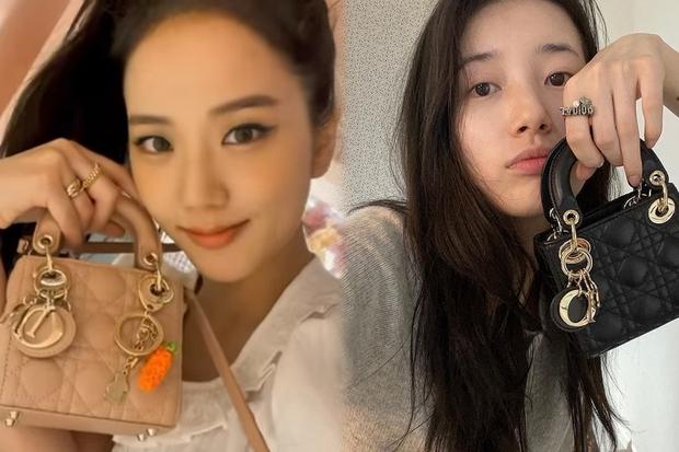 Đặt 2 cô Đại sứ Dior lên bàn cân: Jisoo - Suzy cùng tạo dáng bên mẫu túi hot hit, mỗi người 1 style nhưng bạn ưng ai hơn? - Ảnh 5.