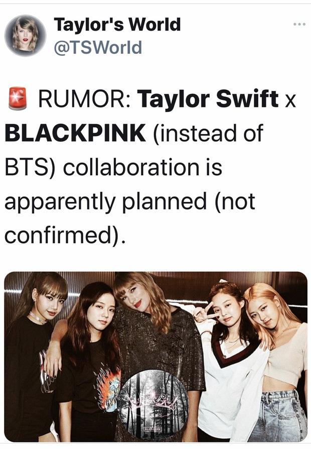 Hoá ra 4+1 không phải BLACKPINK và BLINK, cũng chẳng phải Taylor Swift mà là hợp tác với Ariana Grande? - Ảnh 5.