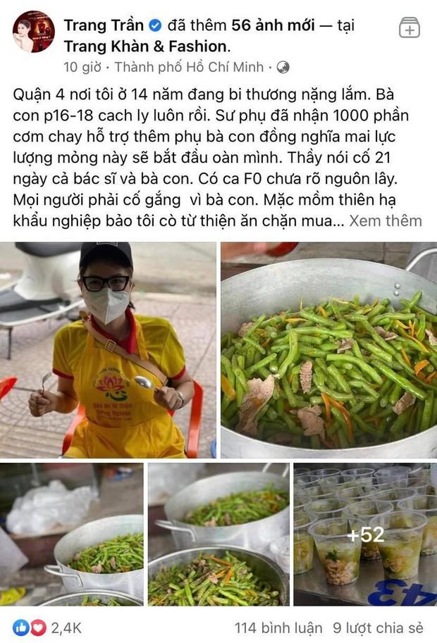 Trang Trần xù lông đáp trả khi bị netizen nhắc chuyện lên bản tin VTV và tin đồn cò tiền từ thiện để mua nhà lầu - Ảnh 2.