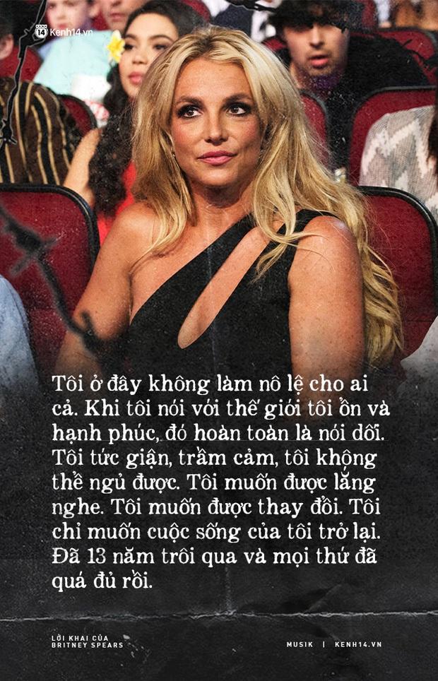 Ca khúc Lucky từ 20 năm trước như vận vào cuộc đời Britney Spears: Sâu thẳm trong trái tim, cô ấy luôn muốn khóc - Ảnh 3.