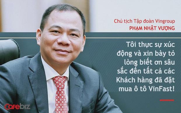 Chủ tịch Vingroup Phạm Nhật Vượng nói về xe điện VinFast: Chúng tôi không thua kém Tesla! - Ảnh 1.