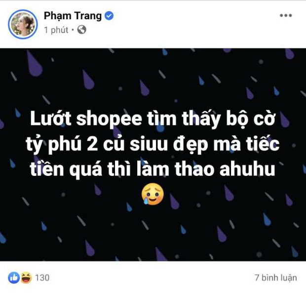 Dù làm vợ streamer giàu nhất Việt Nam, Xoài Non vẫn đắn đo khi mua món đồ chỉ hơn 2 triệu này! - Ảnh 1.