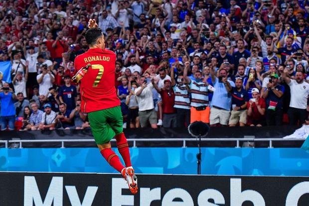 Ăn mừng bàn thắng, Ronaldo bị fan tuyển Pháp ném chai Coca-Cola vào người - Ảnh 3.