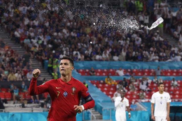 Ăn mừng bàn thắng, Ronaldo bị fan tuyển Pháp ném chai Coca-Cola vào người - Ảnh 5.