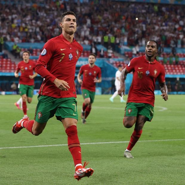 Ăn mừng bàn thắng, Ronaldo bị fan tuyển Pháp ném chai Coca-Cola vào người - Ảnh 8.