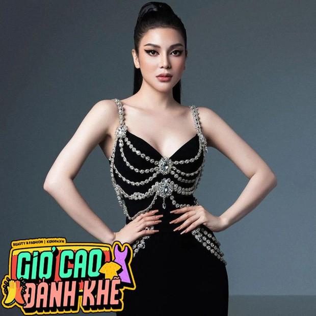 Cao sang là thế, Tình địch Ngọc Trinh Lily Chen vẫn mặc nhầm váy đạo nhái trắng trợn Chanel - Ảnh 5.