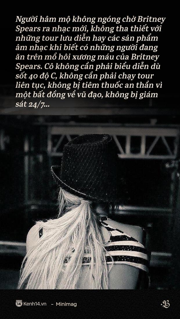 Britney Spears: Công chúa nhạc Pop của toàn thế giới nhưng lại là nô lệ trong chính gia đình của mình - Ảnh 7.